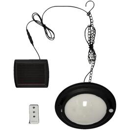 Hanging Solar Pendant Light, with Remote thumb