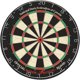 "1-1/2"" Supabull II Official Bristle Dart Board thumb"