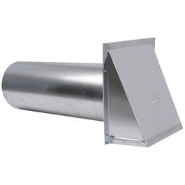 "4"" Aluminum Vent Hood, with Tailpiece thumb"