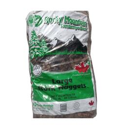 3 Cu.Ft. Large Red Fir Bark Garden Nuggets thumb