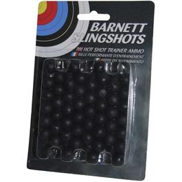 100 Pack Black Slingshot Ammo thumb
