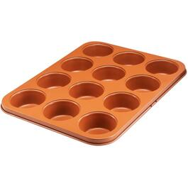 12 Cup Large Non Stick Muffin Pan thumb