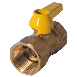"3/4"" Female Imperial Pipe Gas Valve, with Lever thumb"