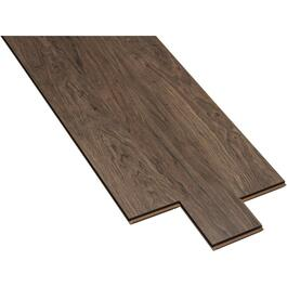 "11.45 sq. ft. 5""x 48"" Inspired Walnut Laminate Plank Flooring thumb"