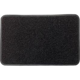 "24"" x 36"" Black Loop PVC Door Mat, with Border thumb"