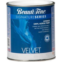 850mL Velvet Finish Clear Base Exterior Latex Paint thumb