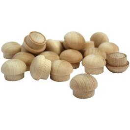 "20 Pack 3/8"" Birch Buttons thumb"