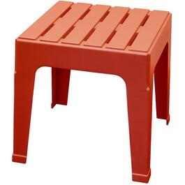 Red Big Easy Resin Stack Side Table thumb