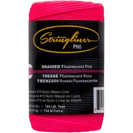 250' Pink Braided Nylon #18 Mason Line thumb