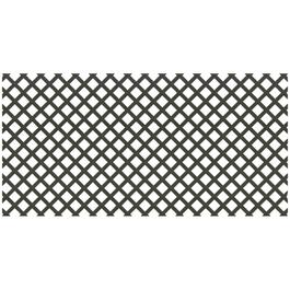 4' x 8' Black Classic Ultra Light Vinyl Lattice thumb