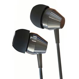 Black Noise-Isolating In-Ear Earbuds thumb