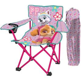 Pink Kids Paw Patrol Camping Chair thumb