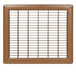 "6"" x 24"" Brown Floor Grille thumb"