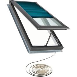 "22"" x 47"" Deck Mounted Vent Skylight, with Electric Motor thumb"