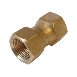 "3/8"" Brass Swivel Nut Connector thumb"