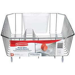 "14"" x 12"" Chrome Dish Drainer thumb"