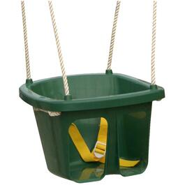 Green Child Swing, with Safety Belt thumb