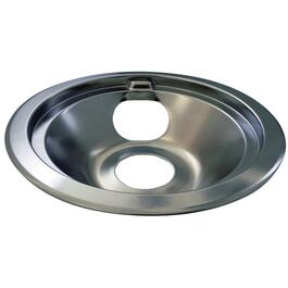 "6"" Chrome Ring and Drip Pan for GE, Hotpoint, Moffat and McClary thumb"