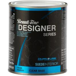 850mL Clear Base Suede Finish Interior Latex Paint thumb