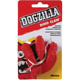 Dogzilla Dino Claw Dog Toy thumb