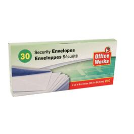 30 Pack #10 Security Envelopes thumb