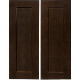 "2 Pack 36"" Midnight Corner Base Cabinet Doors thumb"