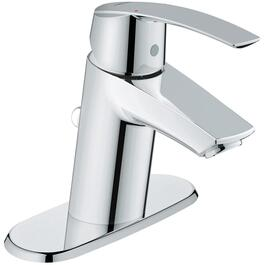 Start 1 and 3 Hole Single Lever Chrome Lavatory Faucet thumb