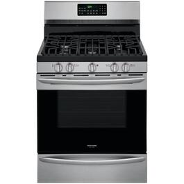 "30"" Stainless Steel Slide-In Gas Convection Range thumb"