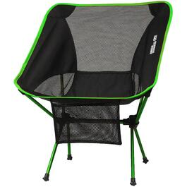 Black/Lime Nano Featherweight Camping Chair thumb