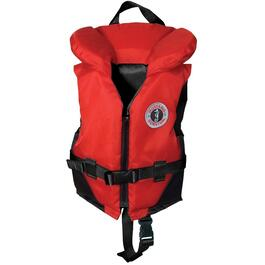 30-60lb Red and Black Child PFD thumb