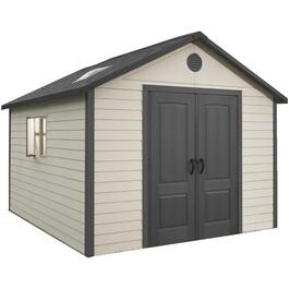 10' x 10' Grey Shed-In-A-Box Storage Shed