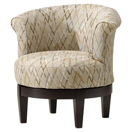Taupe Attica Accent Swivel Chair thumb