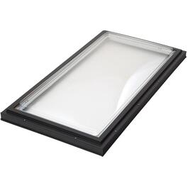 "28"" x 52"" Fixed Curb Mount Low-e Glass Skylight thumb"
