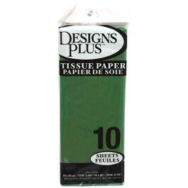 10 Sheets Green Tissue Paper thumb