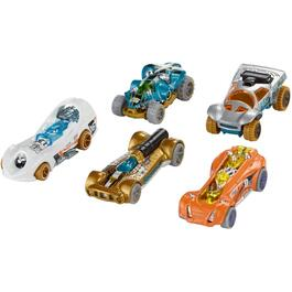 5 Pack Hot Wheels, Assorted Vehicles thumb
