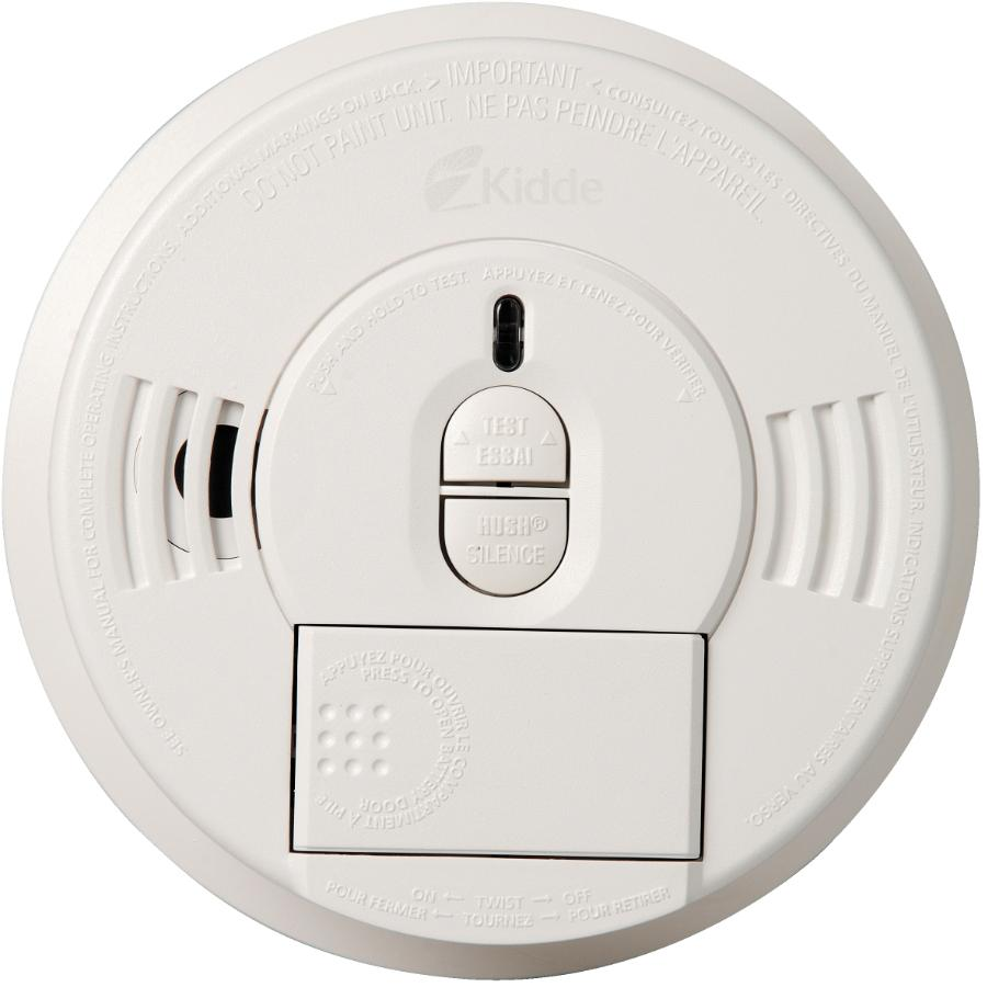 Kidde Battery Operated Smoke Detector With Hush Button Home Detectors Wiring For 4 Front Load