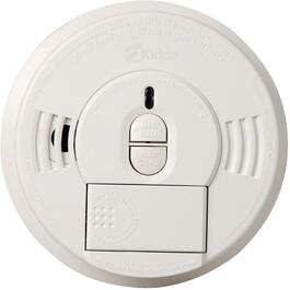 Battery Operated Front Load Smoke Detector, with Hush Button thumb