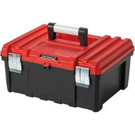 "17"" x 13"" x 8"" Heavy Duty Tool Box, with Plastic Tray thumb"