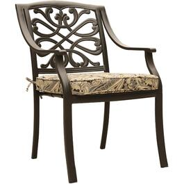 4 Pack Tuscany Cast Aluminum Dining Chairs thumb