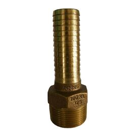 "1-1/4"" x 1"" Insert Brass Adapter, with Wye thumb"