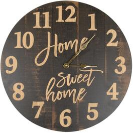 "17"" Round Home Sweet Home Clock thumb"