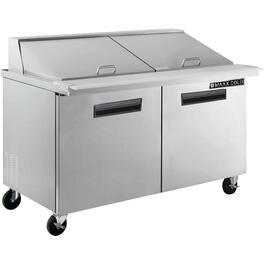 "48"" Stainless Steel Commercial Grade Sandwich Prep Station thumb"