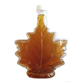 500mL Maple Leaf Glass Bottle thumb