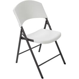 White Commercial Plastic Folding Chair thumb