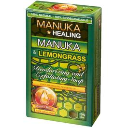 120g All Natural Manuka Honey & Lemongrass Bar Soap thumb