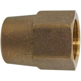 "5/8"" Long Brass Flare Nut Forged thumb"