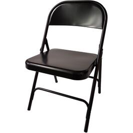 Black Folding Chair thumb