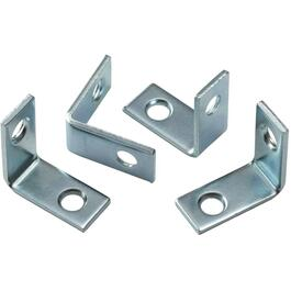 "4 Pack 1"" Zinc Corner Braces thumb"