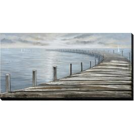 "30"" x 59"" Around The Dock Wall Plaque thumb"