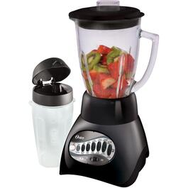 700 Watt 12 Speed Black Blender, with Glass Jar and Travel Cup thumb
